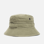 Панама Maharishi Bucket Coated Organic Cotton Maha Olive фото- 0
