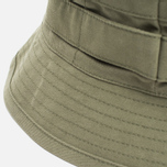 Панама Maharishi Bucket Coated Organic Cotton Maha Olive фото- 1