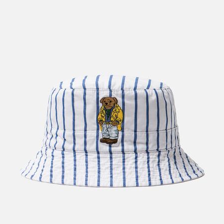 Панама Polo Ralph Lauren Polo Bear Reversible Blue/White Stripe