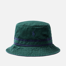 Панама Polo Ralph Lauren Signature Embroidered Pony College Green/Newport Navy фото- 0