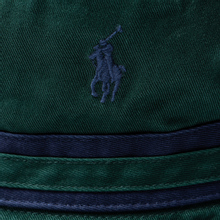 Панама Polo Ralph Lauren Signature Embroidered Pony College Green/Newport Navy фото- 1