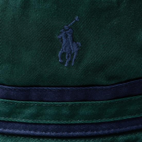 Панама Polo Ralph Lauren Signature Embroidered Pony College Green/Newport Navy
