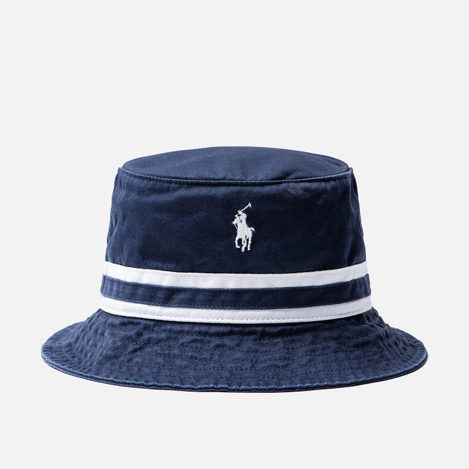 Панама Polo Ralph Lauren Signature Embroidered Pony Newport Navy/White