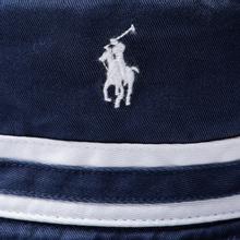 Панама Polo Ralph Lauren Signature Embroidered Pony Newport Navy/White фото- 1