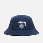 Панама Stussy Acrylic Stock Lock Bucket Navy фото- 0