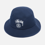 Панама Stussy Acrylic Stock Lock Bucket Navy фото- 1