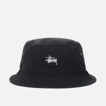 Панама Stussy Smooth Crusher Black фото- 0