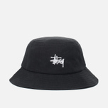 Панама Stussy Smooth Herringbone Black фото- 0