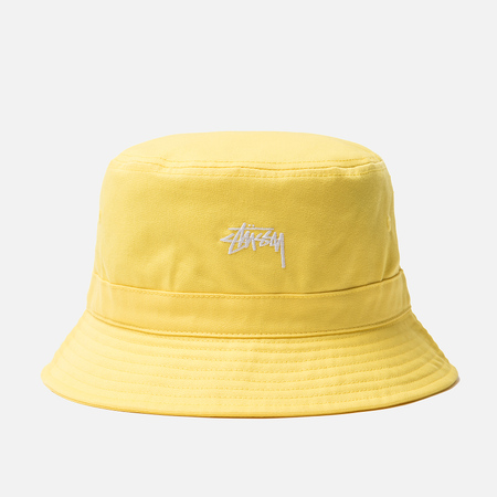 Панама Stussy Stock Band Yellow
