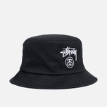 Панама Stussy Stock Lock Black фото- 0