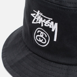 Stussy Stock Lock Panama Black photo- 1