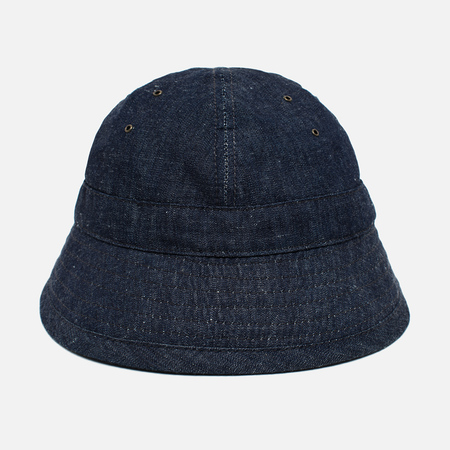 The Hill-Side Selvedge Lightweight Weft-Slub Panama Denim Indigo