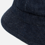 Панама The Hill-Side Selvedge Lightweight Weft-Slub Denim Indigo фото- 2