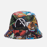 Панама The North Face Sun Stash TNF Black/Sticker Bomb Print фото- 0