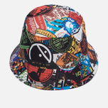 Панама The North Face Sun Stash TNF Black/Sticker Bomb Print фото- 1
