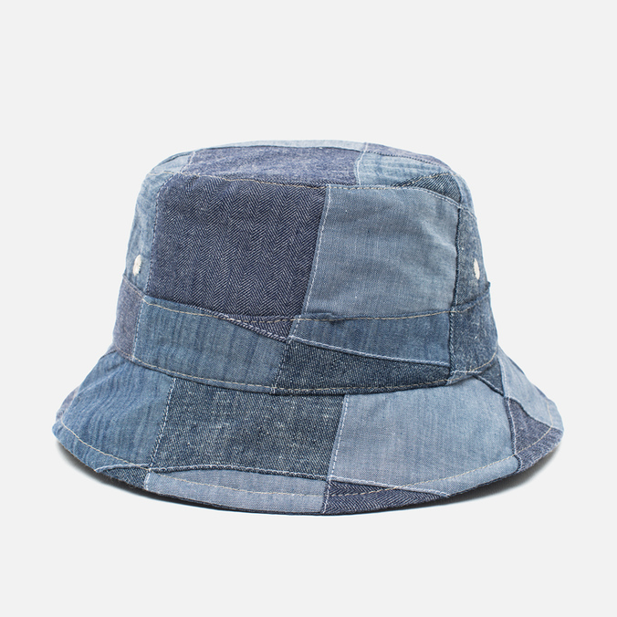 Панама Universal Works Chambray Patchwork Indigo
