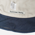 Universal Works Chambray Panama Patchwork Indigo photo- 3