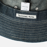 Панама Universal Works Linen Selvedge Denim Indigo фото- 3
