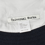 Панама Universal Works Wool Navy Melton фото- 2