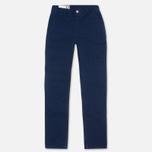 Bleu De Paname Civile Trousers Indigo photo- 0