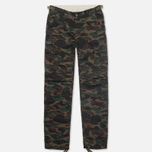 Мужские брюки Carhartt WIP Aviation Ripstop Camo Dark Island Rinsed фото- 0