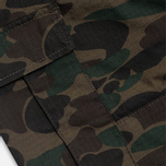 Мужские брюки Carhartt WIP Aviation Ripstop Camo Dark Island Rinsed фото- 4