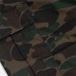 Carhartt WIP Aviation Ripstop Trousers Camo Dark Island Rinsed photo- 4