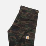 Мужские брюки Carhartt WIP Aviation Ripstop Camo Dark Island Rinsed фото- 1