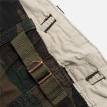 Мужские брюки Carhartt WIP Aviation Ripstop Camo Dark Island Rinsed фото- 3