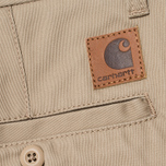 Мужские брюки Carhartt WIP Johnson Leather Rigid фото- 3