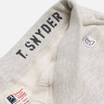 Champion x Todd Snyder Rid Cuff Trousers Oatmeal Heather photo- 2