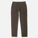 Мужские брюки Fred Perry Classic Twill Chino Midnight Green фото- 0