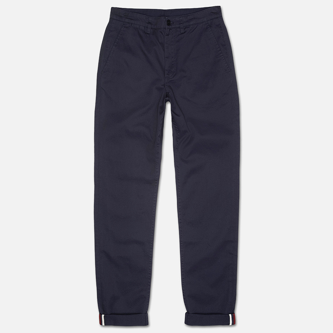 Мужские брюки Fred Perry Classic Twill Chino Navy/White/Port