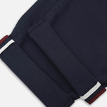 Мужские брюки Fred Perry Classic Twill Chino Navy/White/Port фото- 3