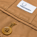 Fred Perry Classic Twill Chino Trousers Rubber photo- 3