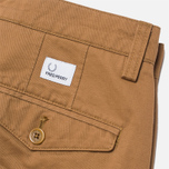 Fred Perry Classic Twill Chino Trousers Rubber photo- 2