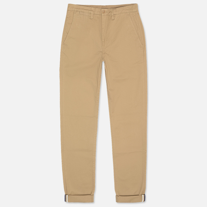 Fred Perry Classic Twill Chino Men`s Trousers Warm Stone