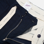 Garbstore Service Revised Double Trousers Navy photo- 2