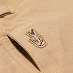 Мужские брюки Lacoste Live Chino Tan фото- 6