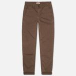 Мужские брюки Velour Adan Chino Brown фото- 0