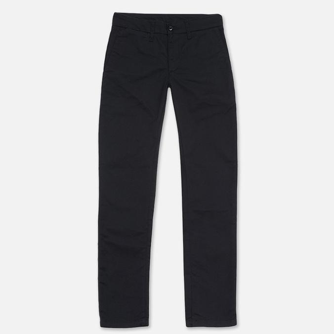 Женские брюки Carhartt WIP X' Sid Black Rinsed