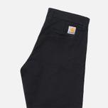 Женские брюки Carhartt WIP X' Sid Black Rinsed фото- 1
