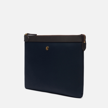 Папка для документов Mismo M/S Pouch Large Navy/Dark Brown
