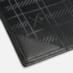 Hackett Saffiano Passport Holder Black photo- 4