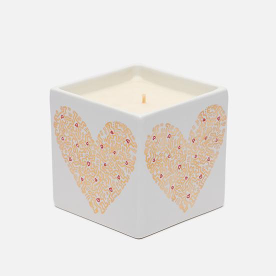 Ароматическая свеча Ligne Blanche Keith Haring Gold Pattern Heart