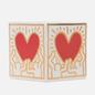 Ароматическая свеча Ligne Blanche Keith Haring Red Heart With Gold фото - 2