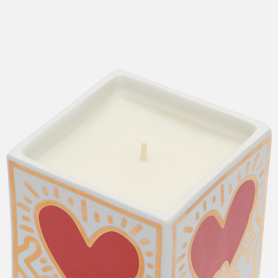 Ароматическая свеча Ligne Blanche Keith Haring Red Heart With Gold