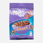 Печенье Milka Brezel Snax Pack 110g фото- 0
