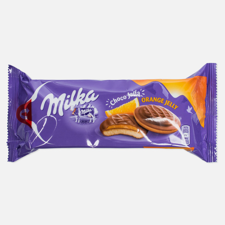 Печенье Milka Choco Jaffa Orange 128g