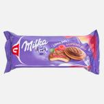 Печенье Milka Choco Jaffa Raspberry 147g фото- 0